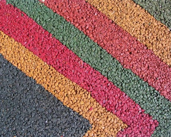 Цветной асфальт